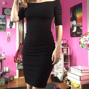 Lulu's off the shoulder midi dress nwt